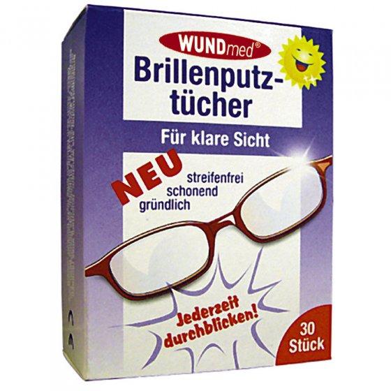 Chiffonnettes à lunettes en microfibre 30 unités