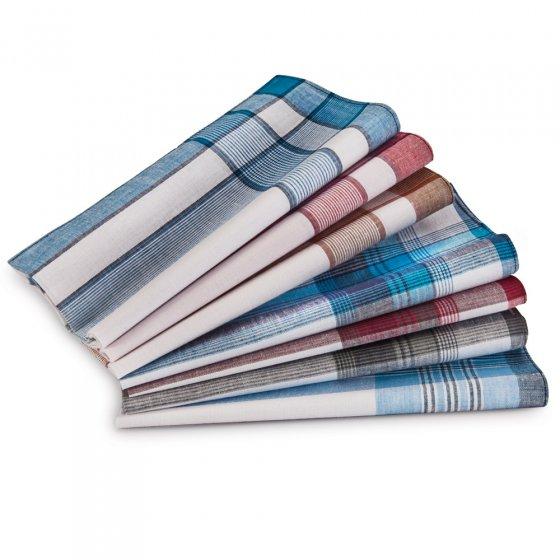 Stoffen zakdoeken Set van 7