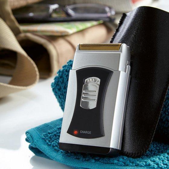 Rasoir de poche rechargeable