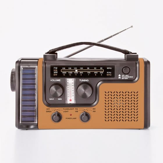 Multifunctionele radio 'Vintage Gold'