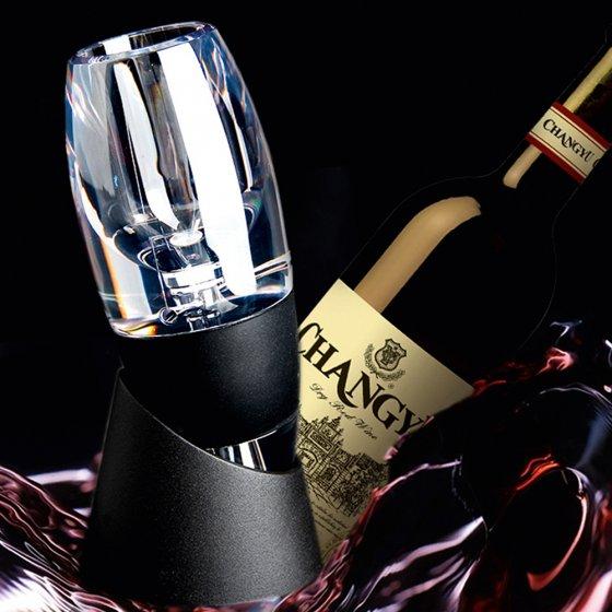 Magische wijndecanteerder