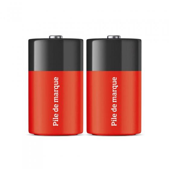Bijpassende C-batterijen, set van 2 Set