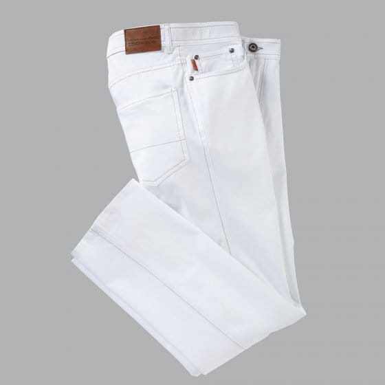 Jean léger antitache 48 | Blanc
