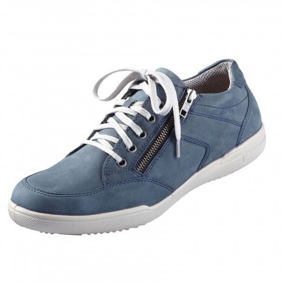 Aircomfort-sneakers met ritssluiting