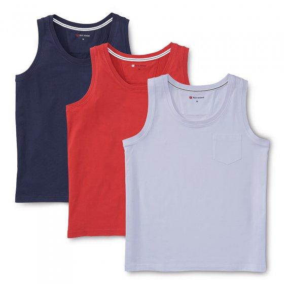 Katoenen overhemdshirt 3 stuks