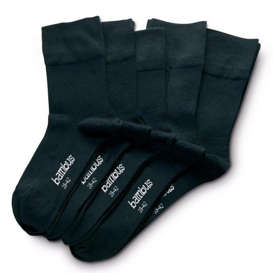 Chaussettes respirantes Lot de 5  43/46 | Noir