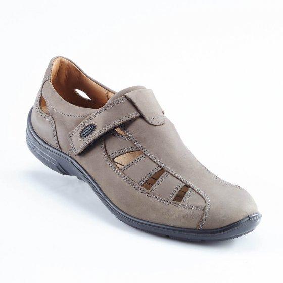 Sandales Aircomfort à patte auto-agrippante 41 | Taupe