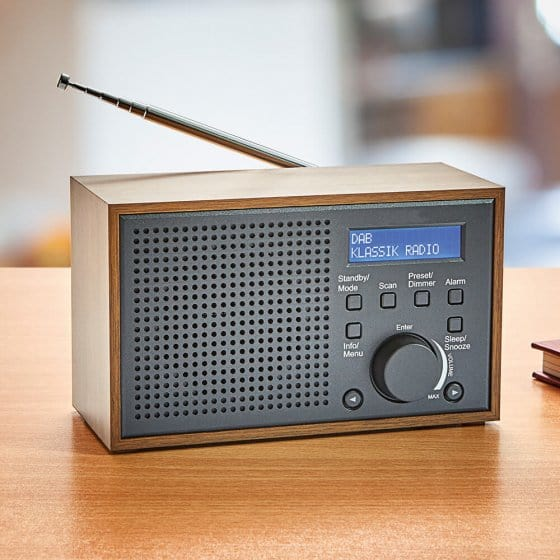 Radio rétro compacte DAB+