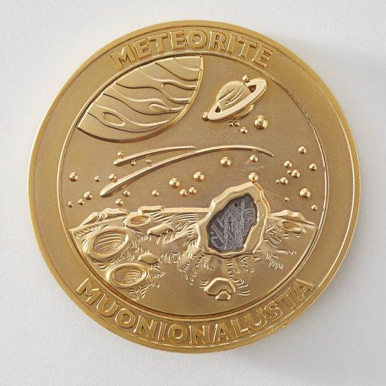 Médaille météorite