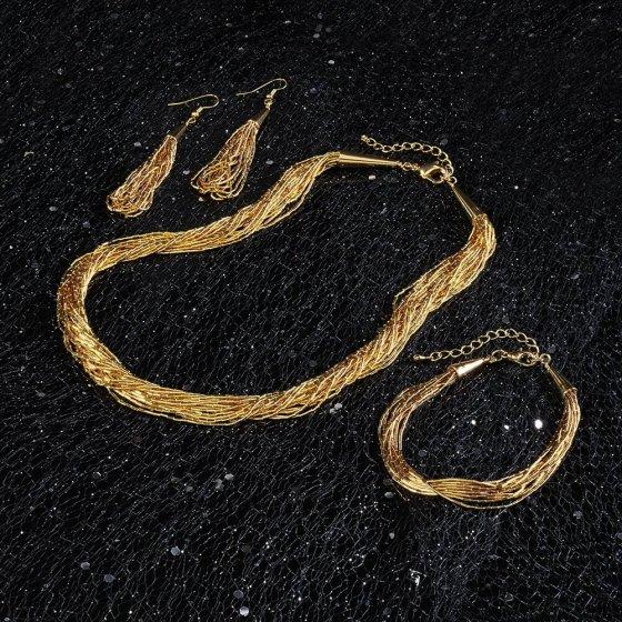 """parure de bijoux """"Goldfluss"""" bracelet"""