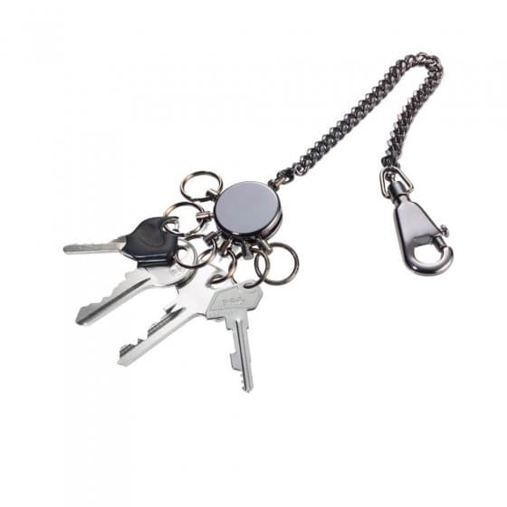 Porte-clés organisateur avec chaîne