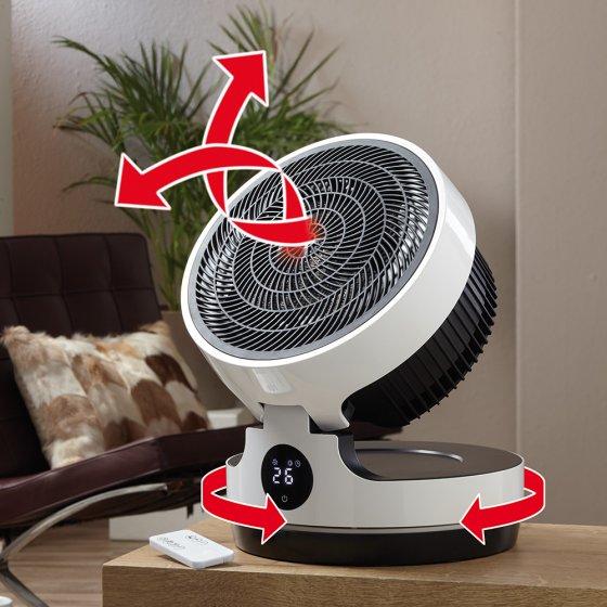 Ventilateur chauffant 3D