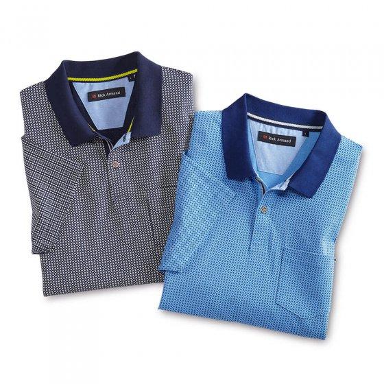 Polo en jersey 4XL | Bleuclair-imprimé