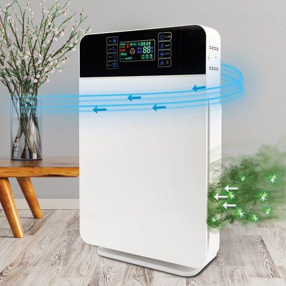 Luchtreiniger met 6-filtersysteem