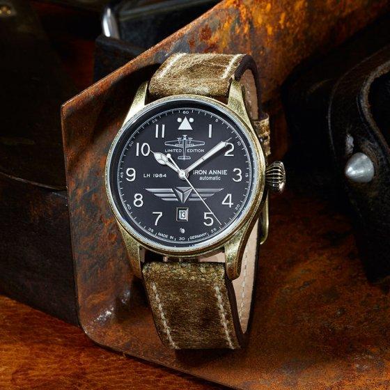 Automatisch horloge 'Iron Annie LH 1984'