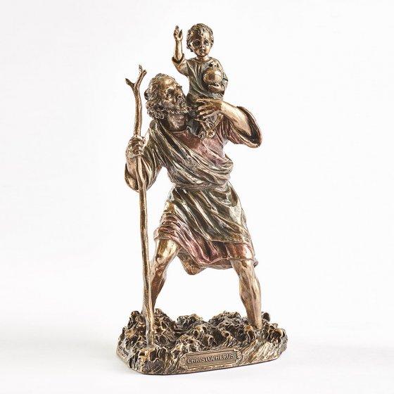 Standbeeld Christophorus met Christuskind