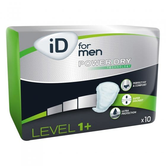 iD for men Level 1+ | 1 lot (10)