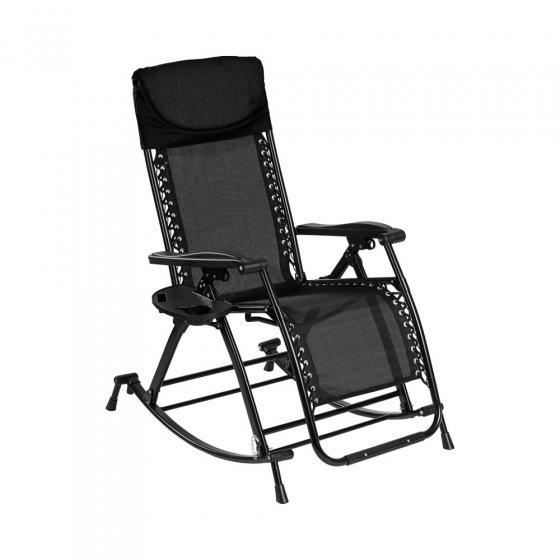 Chaise à bascule variable