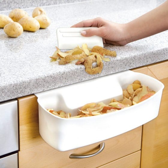 Bac de récupération pour les déchets de cuisine