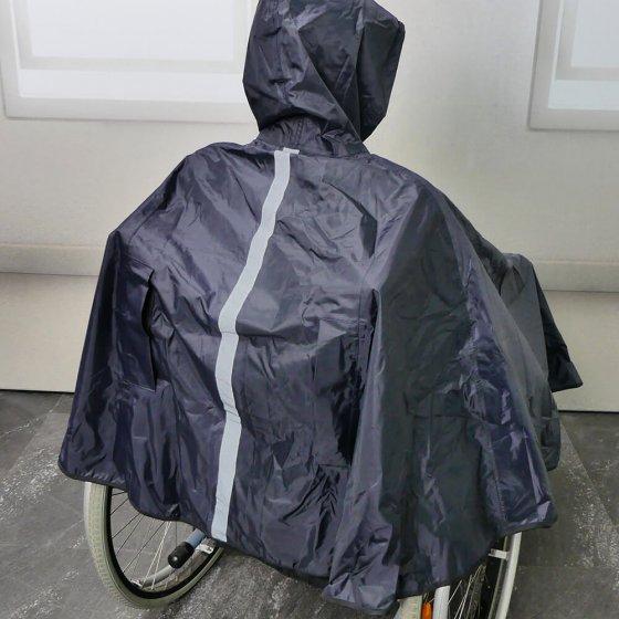 Cape de pluie pour fauteuil roulant