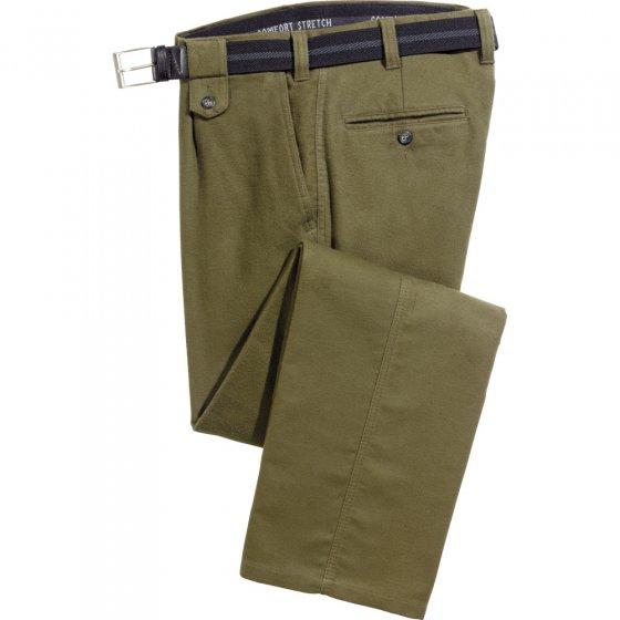 Pantalon en moleskin,noir,48 48 | Noir