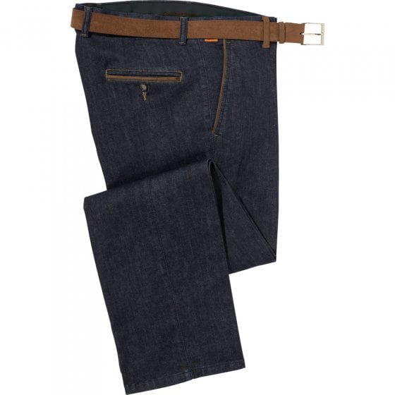 Jeans met contrasten