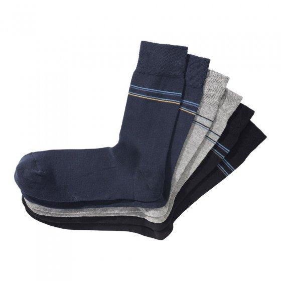 Hoogwaardige katoenen sokken in set van 6