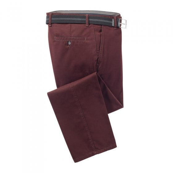 Pantalon d.cot.g.teint,Bord.52 58 | Bordeaux