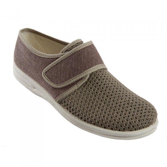 Chaussures en toile canv.,marr 42 | Marron