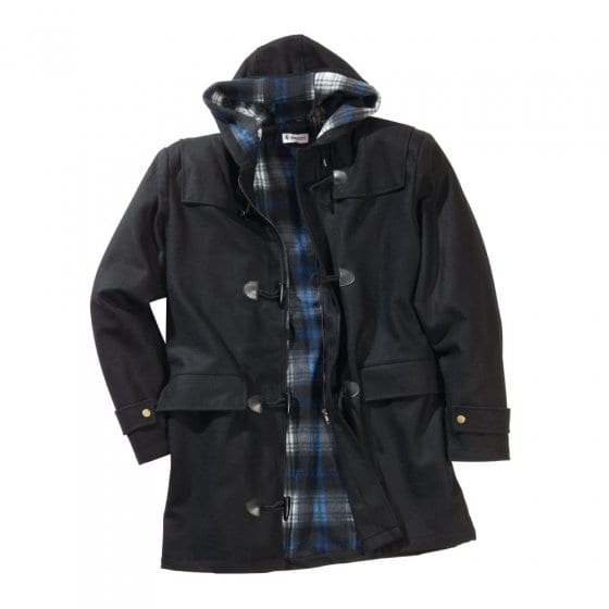 Wollen duffelcoat