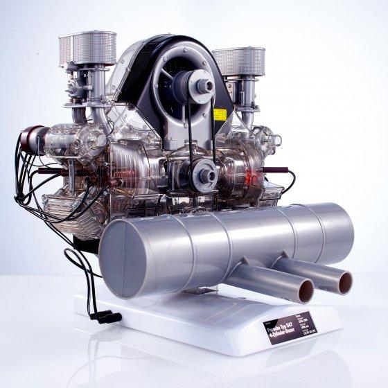 Maquette moteur de course Porsche Carrera type 547