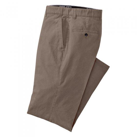 Dubbel geverfde katoenen broek