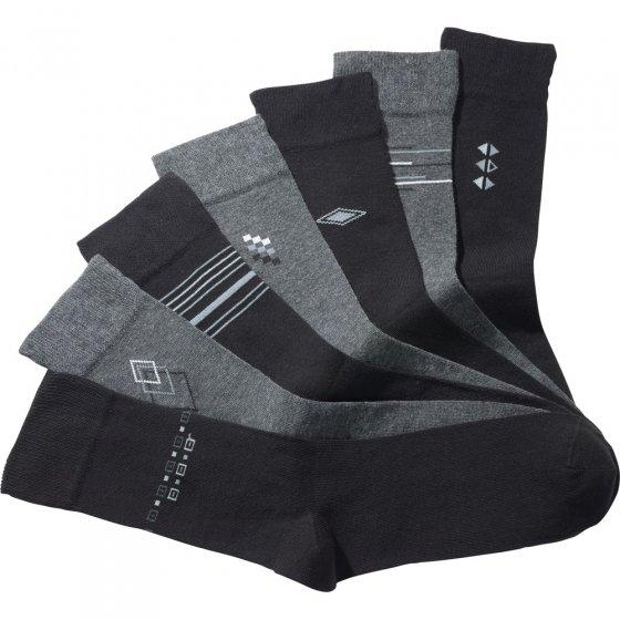 Chaussettes en coton stretch Lot de 7  39/42