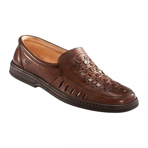 Chaussures tressées confort 44 | Marron