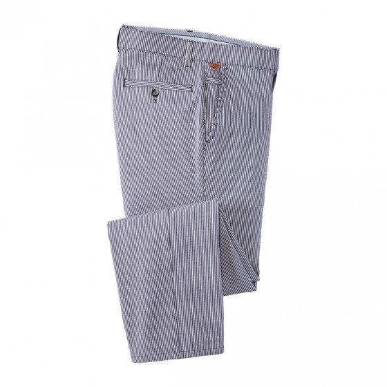 Pantalon en seersucker 23 | Rayuresbleues
