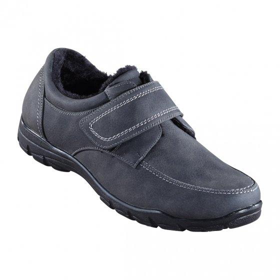 Chaussures doublées à fermeture scratch 43 | Anthracite