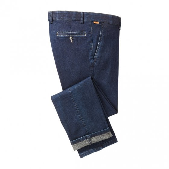 Jeans met geruwde binnenkant