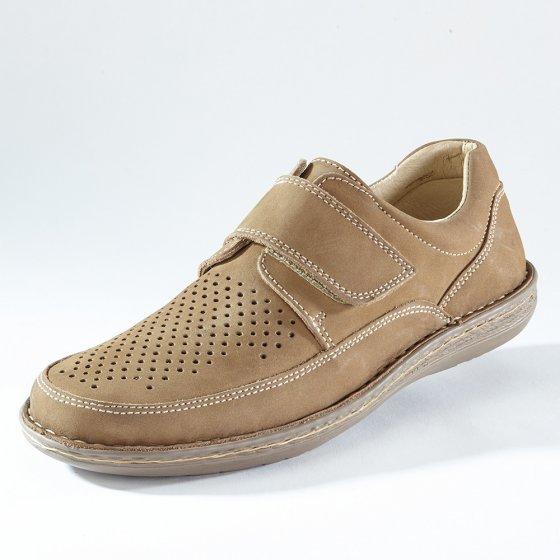 Chaussures scratchées confortables 44 | Beige