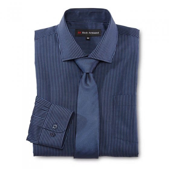 Set van overhemd en stropdas