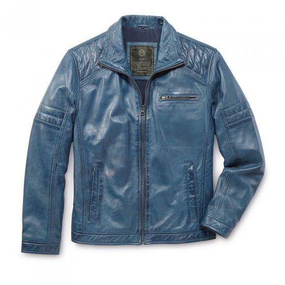 Veste cuir style moderne