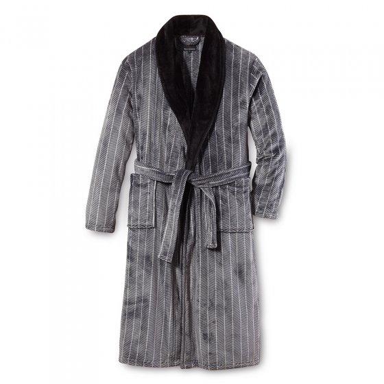 Elegante fleece-badjas