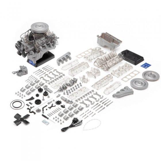 Maquette Ford-Mustang moteur V8