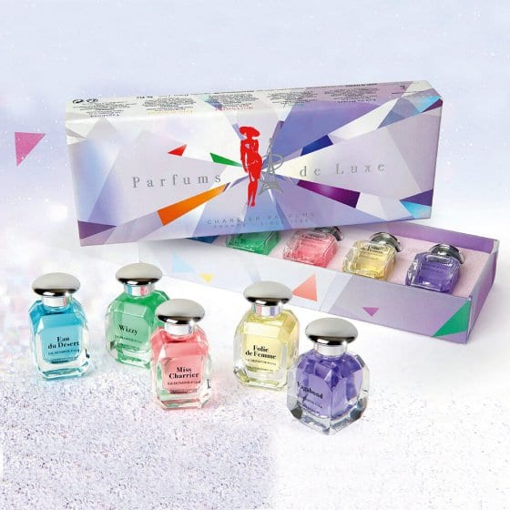 Collection de parfums de luxe