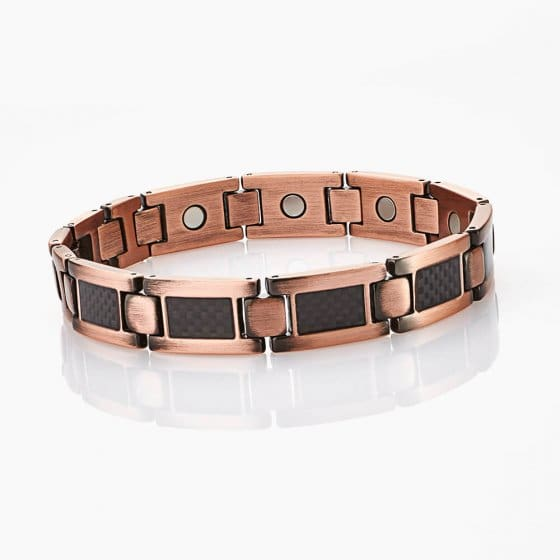 Bracelet magnétique en cuivre