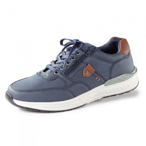 Chaussures à lacer avec glissière 44 | Marine