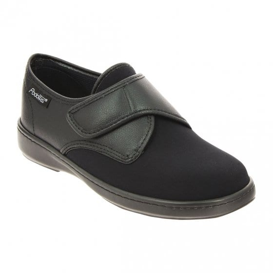 Chaussures confort extra larges 39 | Noir