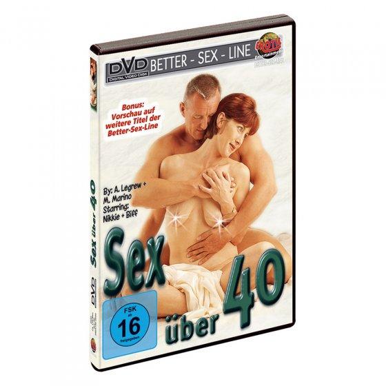 """DVD érotique  """"Le sexe pour les plus de 40 ans"""""""