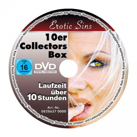 """Lot de DVD érotiques  """"Erotic Sins"""""""