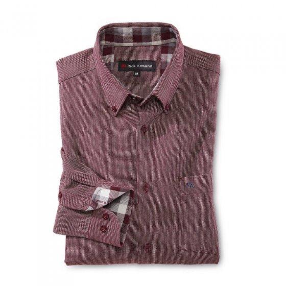 Hoogwaardig flanellen overhemd