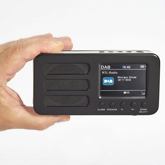 Compacte DAB+/FM-radio